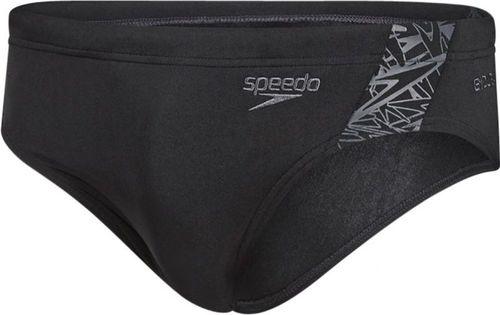 Speedo kąpielówki męskie Boom Splice Brief czarno-szare r. 38 (8-10854B443)