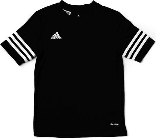 Adidas Koszulka dziecięca ENTRADA F50486 czarna r. 128 cm (33796)