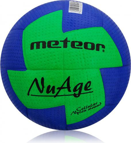 Meteor Piłka ręczna NuAge MINI #0 NIEBIESKO ZIELONA (04070)