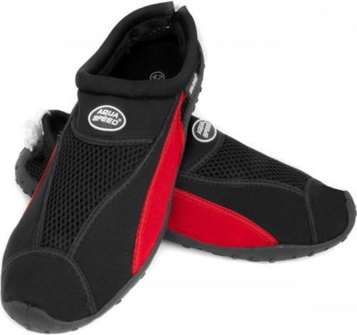 Aqua-Speed Buty do wody SHOE MODEL 11 czarno-czerwone r. 35 (41040)