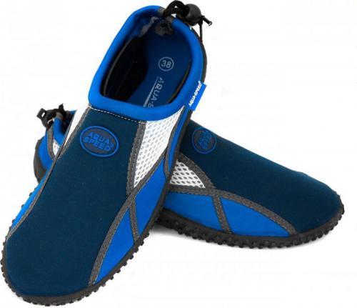 Aqua-Speed Buty do wody 17A granatowy/niebieski/biały r. 41