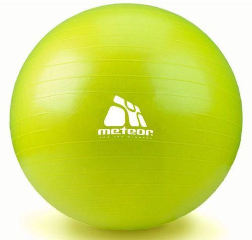 Meteor Piłka fitness 65CM Z POMPKĄ zielona (31174)
