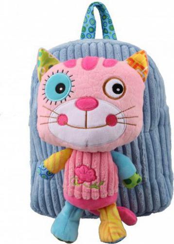 Dumel Plecak Kot niebiesko-różowy  (234165)