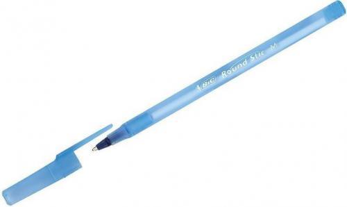 Bic Round Stick niebieski z kodem 60szt (238018)