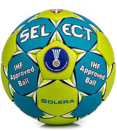 Select Piłka ręczna Solera IHF 3 Select zielono-niebieski roz. uniw