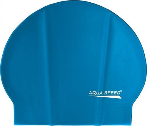 Aqua-Speed Czepek pływacki Soft Latex niebieski
