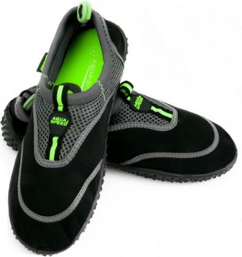 Aqua-Speed Buty do wody 5A czarny/szary/zielony r. 40