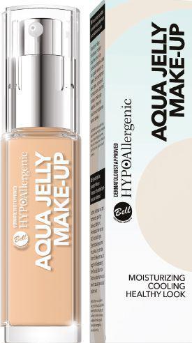 BELL Aqua Jelly Make-Up HYPOalergiczny podkład nawilżająco-matujący o konsystencji galaretki 01 35ml