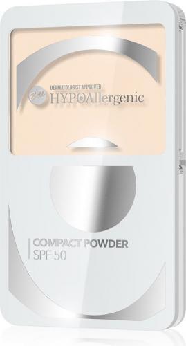 BELL Compact Powder SPF 50  HYPOalergiczny puder kompaktowy  Odcień 02