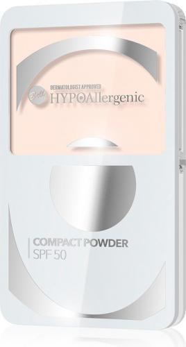 BELL Compact Powder SPF 50  HYPOalergiczny puder kompaktowy  Odcień 01