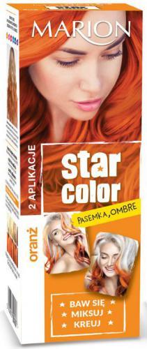 Marion Star Color Krem koloryzujący do włosów 160 Oranż 2x35ml