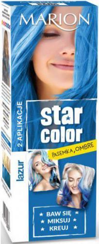 Marion Star Color Krem koloryzujący do włosów 163 Lazur 2x35ml