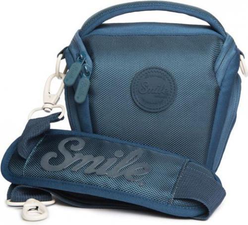 Torba Smile na aparat fotograficzny, niebieska (111720240199)