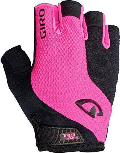 GIRO Rękawiczki rowerowe damskie Strada Massa SG różowo-czarne r. M