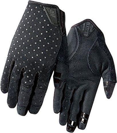 GIRO Rękawiczki damskie GIRO LA DND długi palec black dots roz. M - GR-7068650