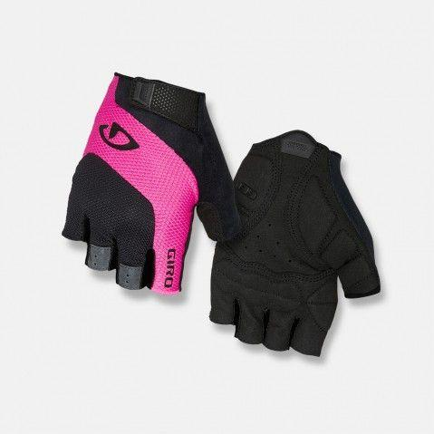 GIRO Rękawiczki damskie TESSA GEL black pink r. L (GR-8053359)