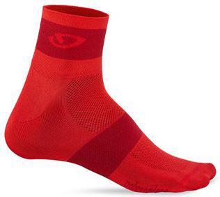 GIRO Skarpety GIRO COMP RACER czerwone roz. M (GR-8053376)
