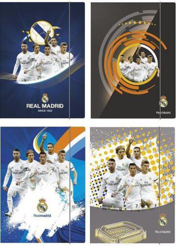 Astra Teczka z gumką A4 Real Madrid 3 (242793)
