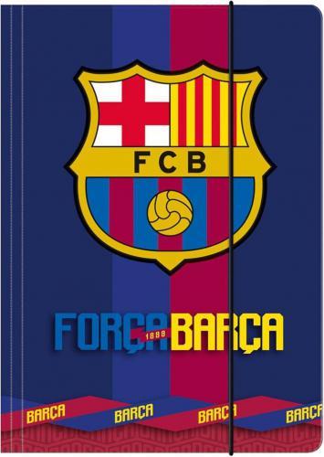 Derform Teczka z gumką A4 Fc Barcelona (243164)