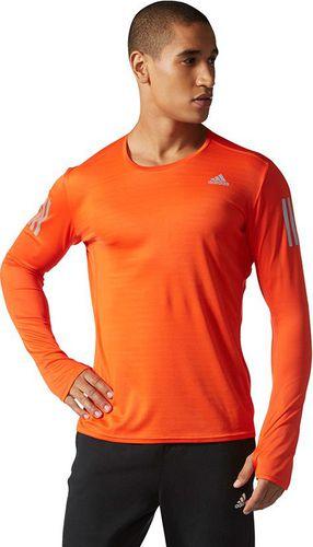 0ef961783 Adidas Koszulka męska Response Long Sleeve Tee pomarańczowa r. M (BP7485)