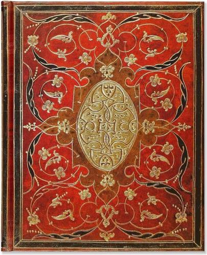 Peter Pauper Press Notatnik duży Bordo (167708)