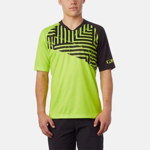 GIRO Koszulka męska Roust Jersey lime distressed r. M (8053461)