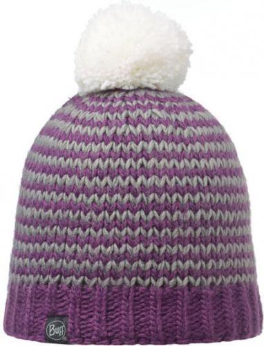 Buff Czapka Knitted & Polar Dorn Plum Mix Kolorów