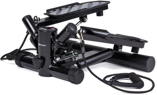 Hop-Sport Stepper skrętny z regulacją i linkami HS 20s czarny (13315-uniw)