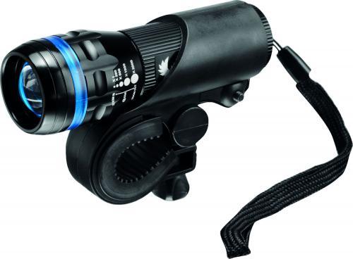 MacTronic Lampa rowerowa przednia, SPECTRE, 150 lm, bateryjna (3x AAA), zestaw (uchwyt, linka) (FBF0021)