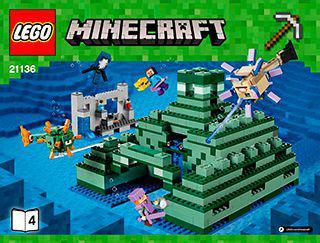 LEGO Minecraft - Oceaniczny monument ( 21136 )