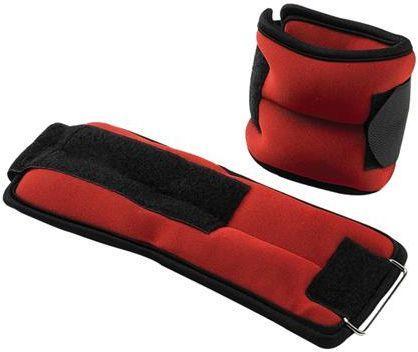 Victoria Sport Obciążenia na rzep 2x 1 kg czerwone