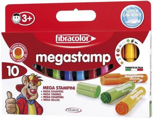 Fibracolor Mazaki Megastamp 10 kol. (154776)