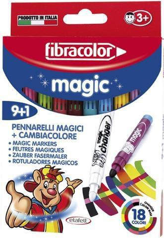 Fibracolor Mazaki Magic 9+1kol. (154786)