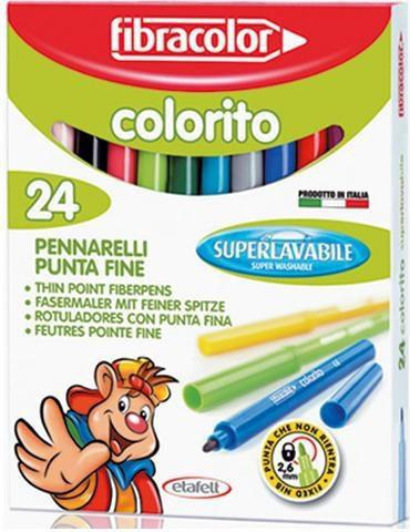 Fibracolor Pisaki Colorito 24 kol. (154785)