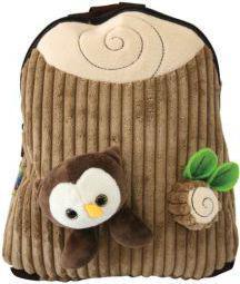 Eurocom Plecak plush mały brązowy  (239245)