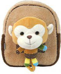 Eurocom Plecak z zabawką pluszakiem Brown Monkey (239241)
