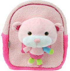 Eurocom Plecak z zabawką pluszakiem Pink Teddy Street (239242)