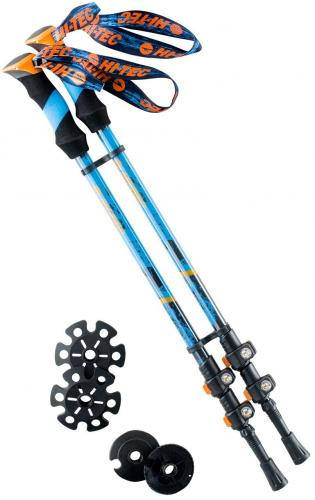 Hi-tec Kije Trekkingowe HIGHLAND navy/blue/orange