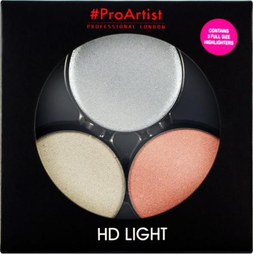 FREEDOM  ProArtist Light Packs - HD Cold Light 2 Zestaw rozświetlaczy 6g