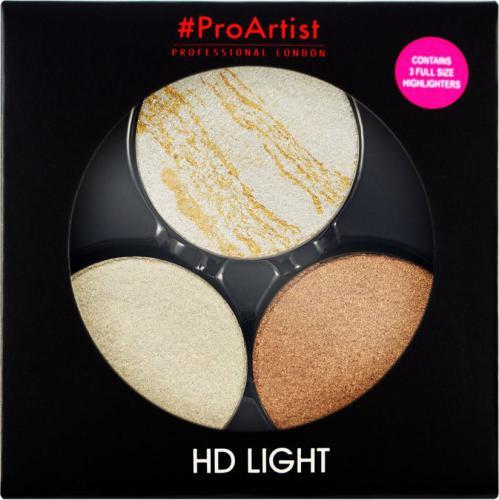 FREEDOM  ProArtist Light Packs - HD Lit 1 zestaw 3 rozświetlaczy 6g
