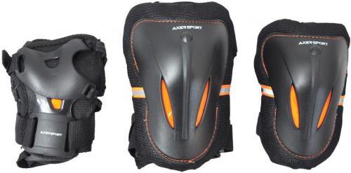 Axer Sport Komplet ochraniaczy czarne r. L (A2084-L)