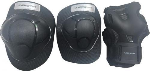 Axer Sport Komplet ochraniaczy czarne r. S Junior (A20654-S)
