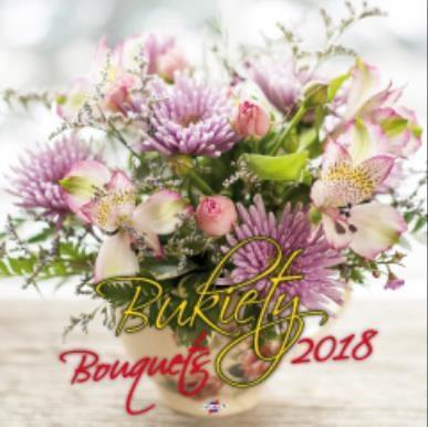 Avanti Kalendarz 2018 Bukiety (KD-8)