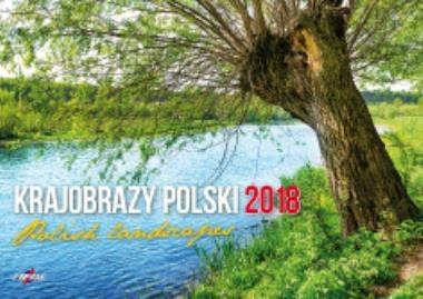 Avanti Kalendarz 2018 Krajobrazy Polski (KA-7)