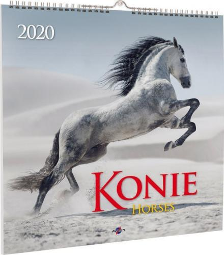 Avanti Kalendarz 2020 Konie