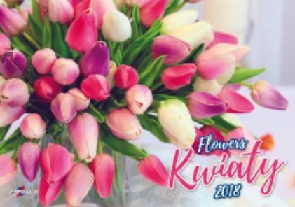 Avanti Kalendarz 2018 Kwiaty (KA-8)