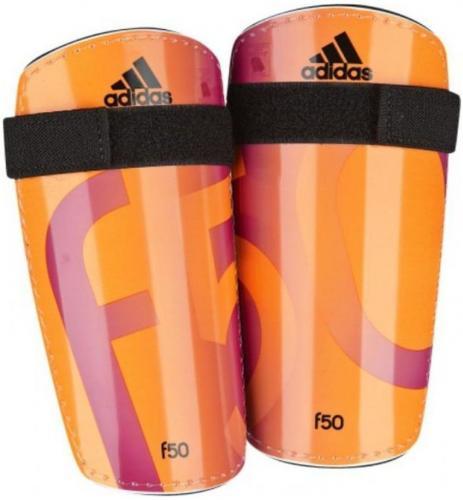 Adidas Ochraniacze Piłkarskie pomarańczowe r. M (G84069 F50)