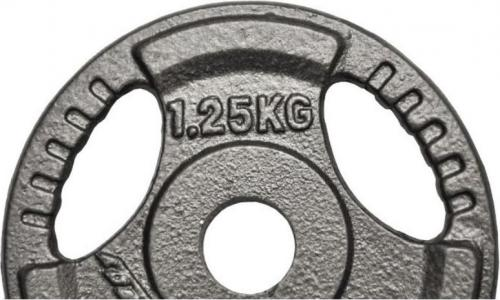 EB FIT obciążenie hammertone 1,25 kg fi28 kolor czarny