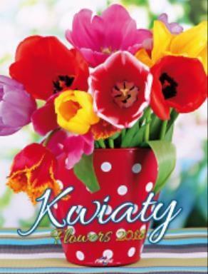 Avanti Kalendarz 2018 Kwiaty KSM-6 (248643)