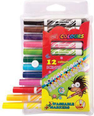 Easy Pisaki zapachowe jumbo 12 kolorów (241909)